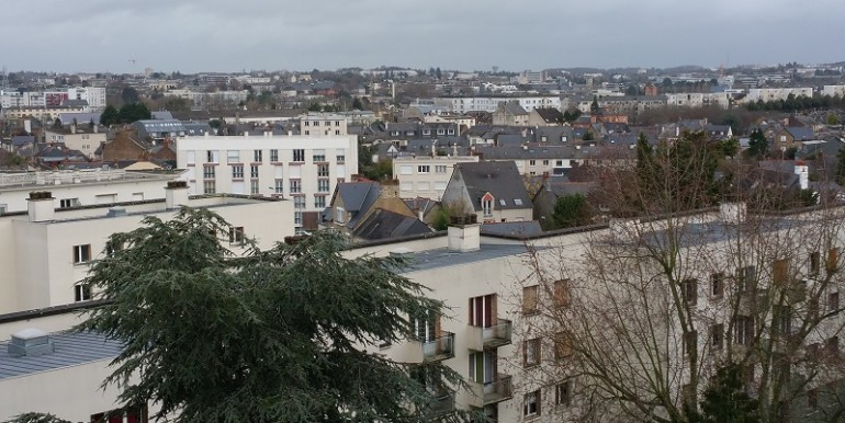 29 bd Léon Bourgeois vue du balcon