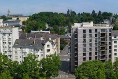 Appartement T7 dernier étage vue Vilaine Rennes centre