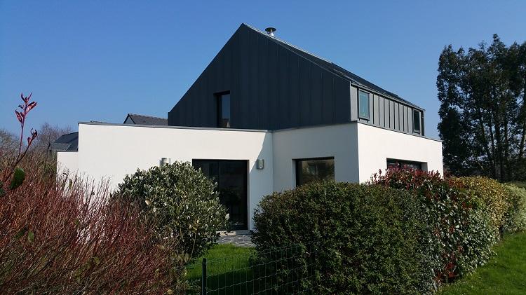 Maison d'architecte à 20 min de Rennes, 8 min de la gare SNCF