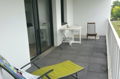 Appartement 3 ch, terrasse Sud vue canal