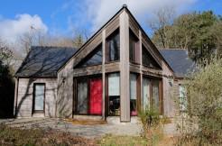 Maison en bois à 20 min de Rennes en train